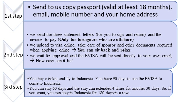 the E-Visa Process Indonesia